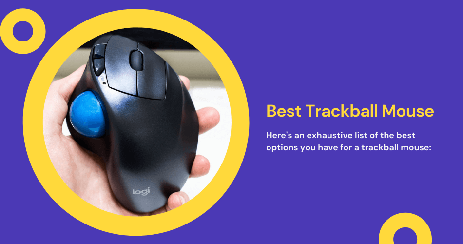 TOP 5 BEST TRACKBALL MOUSE FOR GAMING 2021