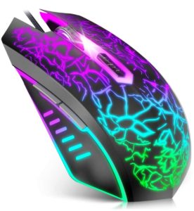 VersionTECH Wired Gaming Mouse - Ergonomic USB Optical Mouse