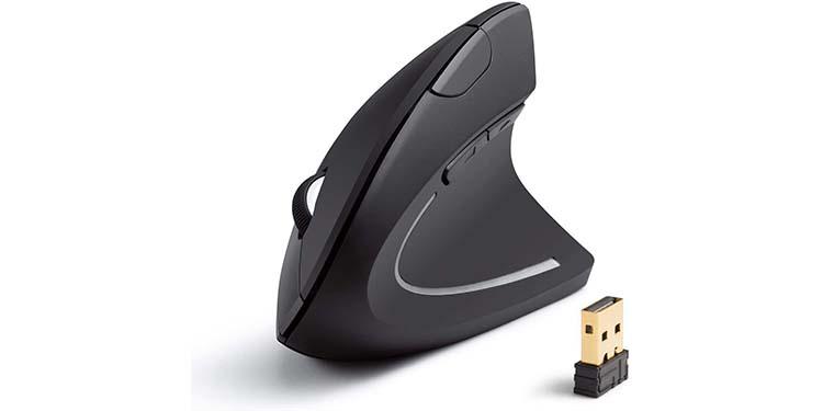 Anker 2.4G Wireless Vertical Ergonomic Optical Mouse