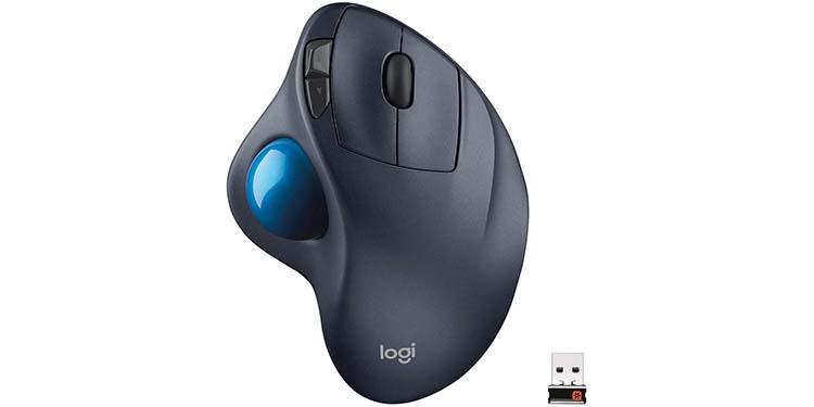 Logitech M570 910-001799 Wireless Trackball Mouse